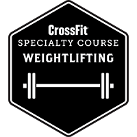 badge weightlifing